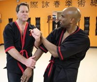 Master Will Parker, practicing his WingTsun™ vocabulary...