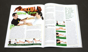 Article spread open - Kung Fu Tai Chi Magazine - July-August 2015