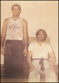 Will Parker as a student with Great Grandmaster Leung Ting - photo