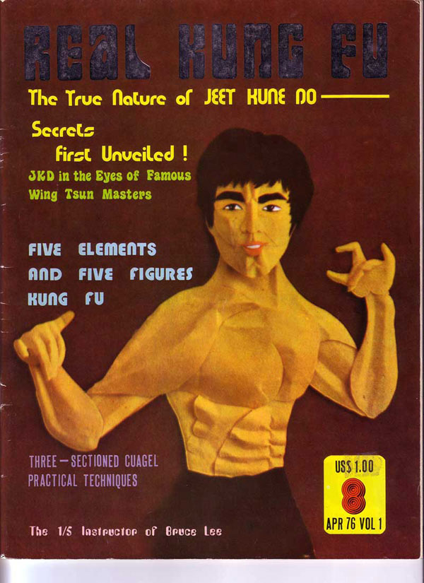 Cover shot, Real Kung Fu Magazine, April 1976