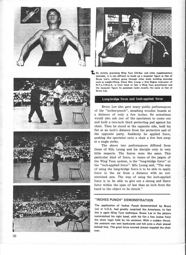 Real Kung Fu Magazine, April 1976 - The True Nature of Jeet Kune Do in the eyes of famous Wing Tsun Masters, by Aaron Lee - page 9