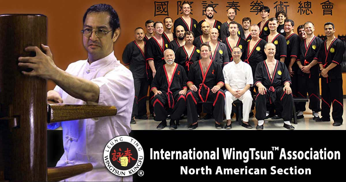 Photo: The International WingTsun™ Association – North American Section (IWTA-NAS) is the North American division of the IWTA (International WingTsun™ Association) and is the official representative of Great Grandmaster Leung Ting and Leung Ting WingTsun® kung fu for the USA and Canada.