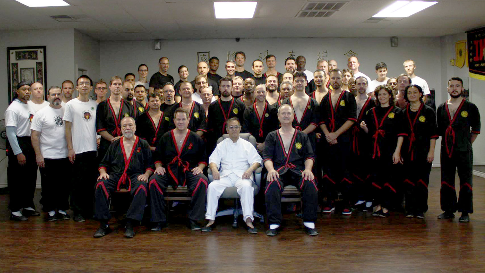 2017 San Antonio GGM Leung Ting WingTsun Seminar Group Photo